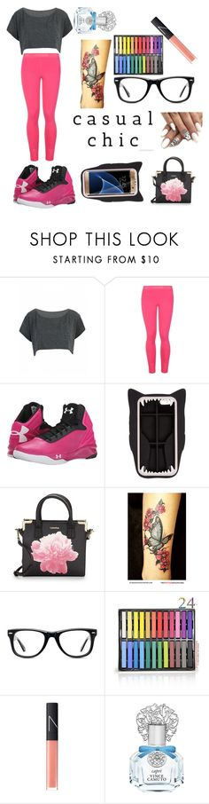 """""""casual chic"""" by karainpink-555 ❤ liked on Polyvore featuring beauty, STELLA McCARTNEY, Under Armour, Samsung, Calvin Klein, Muse, NARS Cosmetics and Vince Camuto"""