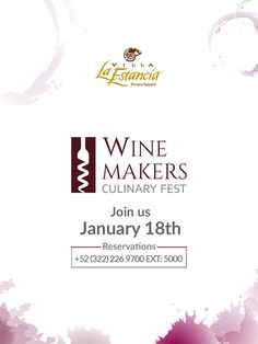 Villa La Estancia in Riviera Nayarit is set to be a spectacular destiantion for wine connoisseurs and enthusiasts as the luxury family resort in Mexico hosts the Winemakers Culinary Fest from on June 18th, 2019.  Want to be part of it, reserve your place and prepare your palate.  Friday June 18th 2:00 pm - Mexican White & Red Wine Tasting $15 USD 7:00 pm - Mexican Pairing Dinner: 5-Course Pairing Dinner With Invited Sommelier $49 USD  +52 (322) 226.9700 ext. 5000  #VillaLaEstancia…