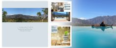 In a very short timeframe, design to print-readiness a high-end brochure for a luxury Moroccan villa development and boutique hotel.