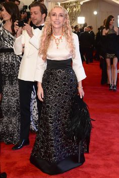 OMG!@@Franca Sozzani at the 2013 Met Gala.