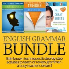 Purchase this Grammar Bundle and SAVE 30% OFF our regular price! Only $19.99