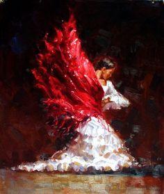 Dance Art, Ballet Dance, Stoner Art, Flamenco Dancers, Les Oeuvres, Watercolor Art, Flamingo, Illustration Art, Handmade Gifts