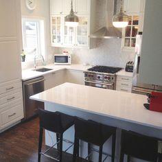 Stephanie Fortier Design / White Kitchen.