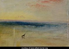 Dawn after the Wreck, c.1841 - Joseph Mallord William Turner - www.william-turner.org
