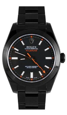 Rolex Milgauss 116400 DLC-PVD - Luxury Of Watches