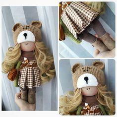 "291 Me gusta, 12 comentarios - Катя (@mi.mi.doll) en Instagram: ""нашла домик#кукларучнойработы #интерьернаякукла #текстильнаякукла#куклаизткани#handmade…"""