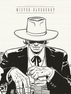 Blueberry édition noir et blanc tome 24 Jean Giraud Moebius, Edouard Hopper, Westerns, Bd Art, Serpieri, Comic Frame, Western Comics, Lucky Luke, Lone Ranger