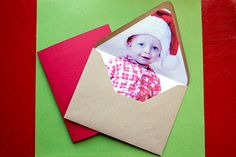 DIY Instagram Holiday Cards & Envelopes by photojojo #DIY #Holiday_Cards