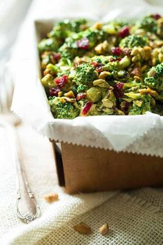 This paleo, healthy Broccoli Salad is jazzed up with a curried cashew cream dressing. It's a quick and easy side dish that is always a crowd pleaser! Ingredients: For the dressing: 3/4 Cup Roasted, Salted Cashews (105 g) 5 1/2 Tbsp Water 1 Tbsp Apple Cider Vinegar 4 tsp Yellow curry powder 2 1/2 tsps … Continue reading Paleo Broccoli Salad with Cashew Cream