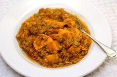 Sweet Potato and Lentil Stew