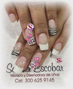 Diana, Nail Art, Beauty, Enamel, Templates, Pink Nails, Nail Decorations, Brush Strokes, Doubles Facts