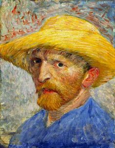 Van Gogh Self-portrait, 1887 - 14