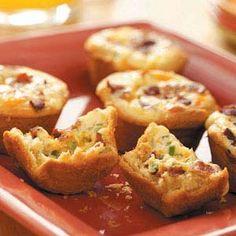 Bacon Quiche Tarts