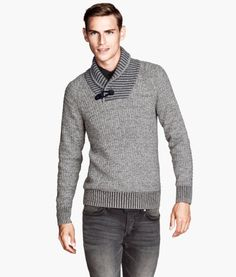 H&M/ Men's Winter/ Grey Sweater