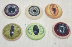 ***Easy eye tutorial*** Sytnathoteps Studios - Jeeper Peepers! Easy Eyes for Props / Costumes