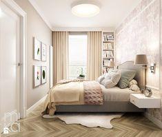 Stylowo na Woli - Mała sypialnia małżeńska, styl eklektyczny - zdjęcie od M!kaDesign
