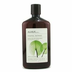 Mineral Botanic Micro-Peeling Cream Wash - Water Lily & Guarana ( Normal/ Dry Skin ) 500ml/17oz by AHAVA. $25.64. This beauty product is 100% original.. Formulated with Dead Sea minerals sunflower oil olive & apricot seed powder Offers gentle cleansing & peeling effect While water lily & guarana nourish skin with moisturizing & soothing properties Unveils you a vibrant new fresh & smooth skin Works with a sponge for richer lather