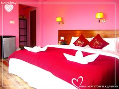 There is a room where two people stay together. They give each other something nobody else can. #loveintheair #spreadlove #couplehotels #couplegoals #luvstay