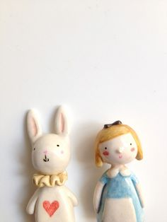 PLOUDOLL , handmade cloth dolls and clay miniatures: alice in...