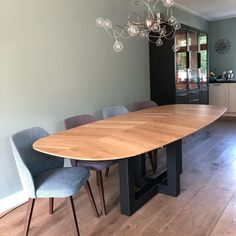 """'t Kroonhuys on Instagram: """"Proud to say we just delivered our first 'Leaf' table. 🍂👑 #inspiredbynature"""" Leaf Table, Dining Table, Leaves, Modern, Projects, Furniture, Instagram, Home Decor, Log Projects"""