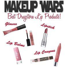 Makeup Wars - Best Drugstore Lip Products #lipcolorsdrugstore