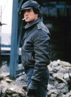 Find the right handcrafted and custom made leather jacket for you at LeatherCult. Get stylish with our men's biker jackets, bomber jackets and more! Mens Leather Coats, Leather Jackets Online, Leather Blazer, Rocky Pictures, Silvester Stallone, Rocky Balboa, Almost Perfect, Hollywood Celebrities, Hats For Men