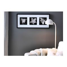 """ERIKSLUND Picture, Aquilegia study $19.99 Article Number : 302.317.30 Motif created by Ian Winstanley. Mounted picture - ready to hang. Read more Size 28 ¼x12 ½"""""""