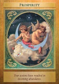 Oracle Card Prosperity   Doreen Virtue   official Angel Therapy Web site