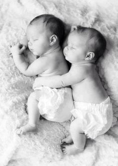 This is what makes me excited about two babies!! The snuggling!!