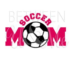Soccer Mom Iron On Decal Vinyl for Shirt by CleanCutStudio on Etsy, $7.25