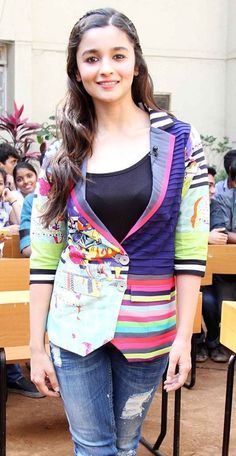Yay or Nay? Alia Bhatt in this quirky Jacket