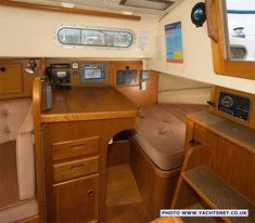 Contessa 32 archive details - Yachtsnet Ltd. online UK yacht brokers - yacht brokerage and boat sales Yacht For Sale, Boats For Sale, Yacht Broker, Boat Building, Interior And Exterior, Corner Desk, Sailing, Boating, Furniture