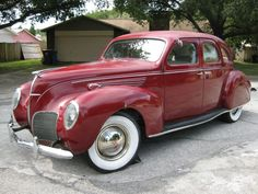 Learn more about No Reserve: 1938 Lincoln Zephyr on Bring a Trailer, the home of the best vintage and classic cars online. Lincoln Motor Company, Ford Motor Company, Vw Fox, Lincoln Zephyr, Hot Rod Trucks, Classic Cars Online, Amazing Cars, Hot Cars, Vintage Cars