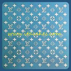 gucci stencil sheet background by stencilsboutique on