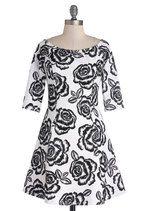 Moonlit Roses Dress