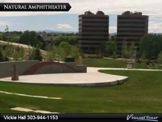 Centennial Civic Center Park - wonderful 11 acre park with amphitheater, unique playground, water play areas, climbing walls, picnic shelters, educational tidbits on Colorado and the periods of history.  Wonderful destination park.    Click here for more information on #Centennial: http://www.CentennialCOBuzz.com  #Centennial  #City of Centennial  #CityofCentennial  #CentennialCivicPark