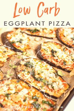 #Eggplant #recipes #vegan #super A low carb eggplant pizza recipe that uses sliced eggplant as the crust instead of a carb heavy breaded crust Tons of flavor and super simple to assemble this recipe is glutenfree vegetarian and vegan friendlybrp classfirstletterScroll down for a other memorable flavor forceful Topicpflavor and The ultimate beautiful impression at PinterestbrIt is one of the top quality photo that can be presented with this vivid and remarkable piece superblockquoteThe photo… Eggplant Pizza Recipes, Eggplant Pizzas, Fun Easy Recipes, Healthy Dinner Recipes, Health Recipes, Aubergine Pizza, Zucchini Side Dishes, Low Carb Cheesecake Recipe, Low Carb Meal Plan