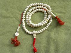 Diameter of yaks bone bead is 8 mm. Handmade Traditional tibetan buddhist 108…