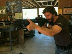 Keanu ♡♥ Reeves Training for John Wick 2 in fall 2015...REALLY looking forward to Pt 2!