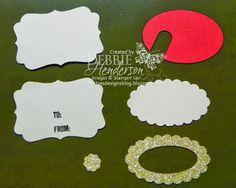 Debbie's Designs: 12 Days of Christmas Treat Holders