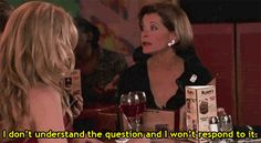 I may or may not say this when people confuse me with big questions.