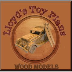 Wooden Toy Plans, Patterns, Models and Woodworking Projects from Lloydswoodtoyplans. Our plans are excellant woodworking projects for the beginner, to the advanced woodworker. Wood Carving Patterns, Wood Patterns, Electric Hand Drill, Wood Toys Plans, Wooden Truck, Scroll Saw Patterns, Toys Shop, Courses, Wood Print