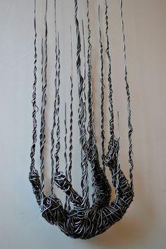 Wire Sculpture Inspired by Calder Puts Contemporary Spin on Wire Art Wire Sculpture Inspired by Calder Puts Contemporary Spin on Wire Art Image Size: Wire Art Sculpture, Human Sculpture, Wire Sculptures, Abstract Sculpture, Bronze Sculpture, Sculpture Projects, Sculpture Ideas, Sculptures Sur Fil, Instalation Art