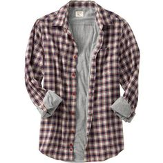 Old Navy Mens Jersey-Lined Plaid Shirt ($13) ❤ liked on Polyvore featuring mens, men's clothing, men's shirts, men's casual shirts, tops, shirts, plaid and flannel