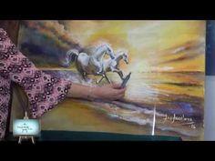 Ana , nos enseña como dibujar caballos en perspectiva en lindisimos pais...