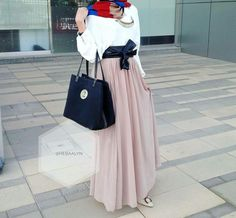 #skirt#hijabfashion