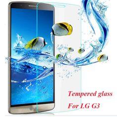 9H Hardness 2.5D Tempered Glass Film Anti-oil anti-scratch mobile film Phone Accessories For LG G3 Premium Glass ScreenProtector