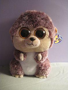"TY Beanie Boos SPIKE the HEDGEHOG big eyes Retired NWT 9"" Buddy Size VHTF #Ty"