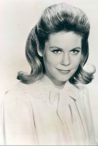 Elizabeth Victoria Montgomery (April 15, 1933 – May 18, 1995) was an American film and television actress whose career spanned five decades, best-known as Samantha Stephens in Bewitched; she also notably portrayed Ellen Harrod in A Case of Rape and Lizzie Borden in The Legend of Lizzie Borden.