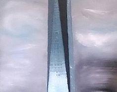 Torre hasta el cielo. 64x50
